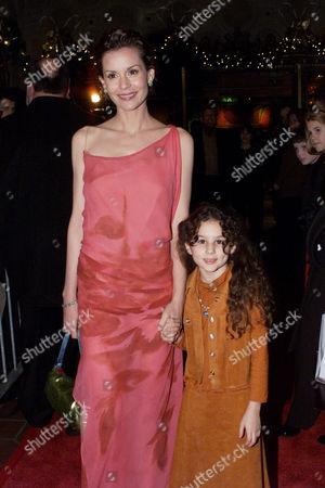 Embeth Davidtz and Hallie Eisenberg