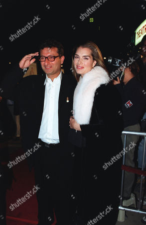 Director Gary Sinyor and Brooke Shields