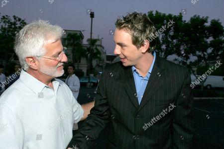 Stock Photo of Rob Friedman and Dax Shephard