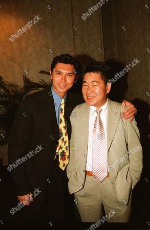 Lou Diamond Phillips and Kirk Wong