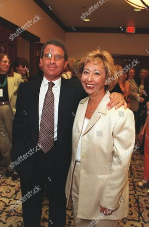 20000609  Los Angeles Ron Meyer and Nikki Rocco at the Women In Film 24th Annual Crystal Awards Luncheon at the Century Plaza Hotel  Photo®Eric Charbonneau/BEI    A005760-8a