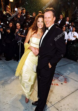 James Woods and Alexis Thorpe