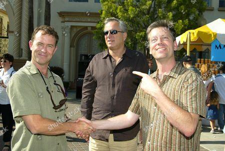 Stock Photo of Tuck Tucker, Arthur Cohn, Craig Bartlett