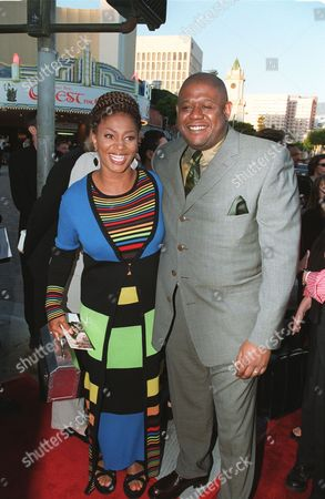 Terry McMillan and Forest Whitaker