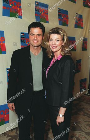 Stock Image of Donny Osmond and Debbie Osmond