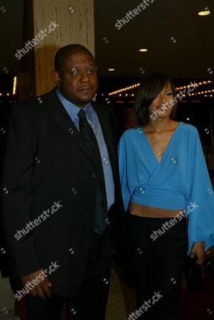 Forest Whitaker and wife Keisha Simone Nash