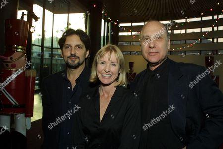 Kirk Stambler, Victoria Tennant and Director Marshall Brickman