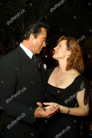 Stock Image of Wayne Newton with Mary McDonough