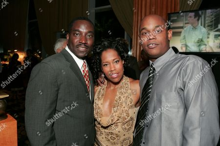 Clifton Powell, Regina King and Bokeem Woodbine