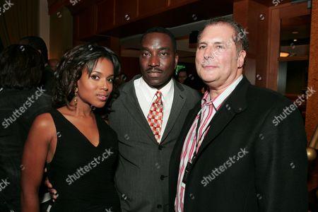 Kerry Washington, Clifton Powell and Producer Stuart Benjamin