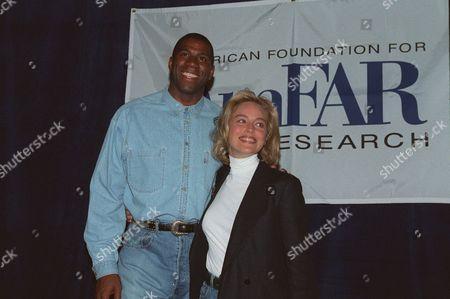 Earvin 'Magic' Johnson, Sharon Stone