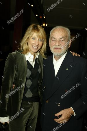 Stacey Snider and Dino DeLaurentiis