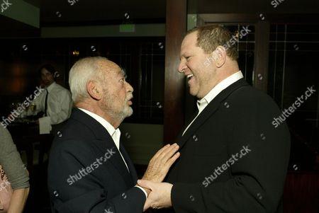 Dino DeLaurentiis and Harvey Weinstein