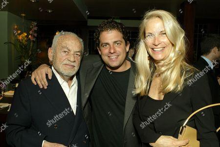 Dino DeLaurentiis, Brett Ratner & Martha DeLaurentiis