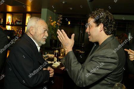 Stock Image of Dino DeLaurentiis and Brett Ratner