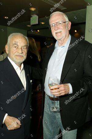 Dino DeLaurentiis and Frank Pierson