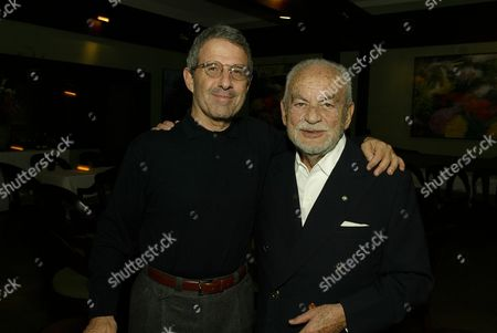 Stock Picture of Ron Meyer and Dino DeLaurentiis