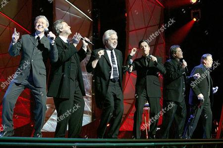 THE OSMONDS - WAYNE, JAY, MERRILL, DONNY, JIMMY AND ALAN OSMOND