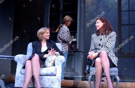 L-R: Melanie Gutteridge as ' Rhonda Milne', Jenny Seagrove as Isobel Glass & Balinda Lang as 'Marion French'