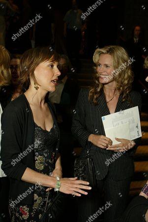 Cynthia Stevenson and Natasha Henstridge