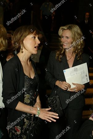 Stock Image of Cynthia Stevenson and Natasha Henstridge