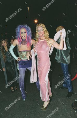 Drag Queens Candy Ass and Eva Destruction