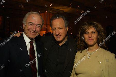 Sony's Mel Harris, Michael Mann & Sony's Amy Pascal