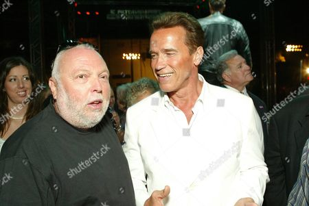 Andy Vajna and Arnold Schwarzenegger
