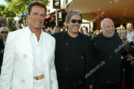 Arnold Schwarzenegger, Mario Kassar & Andy Vajna