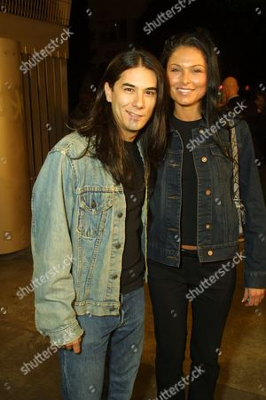 James Duval and girlfriend Alex Rice