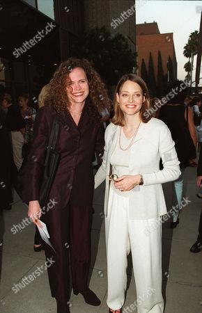 Meg Lefauve and Jodie Foster