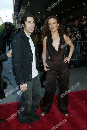 Juliette Lewis & husband Steve Berra