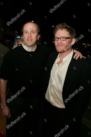 Producer John Davis and Scott Michael Campbell
