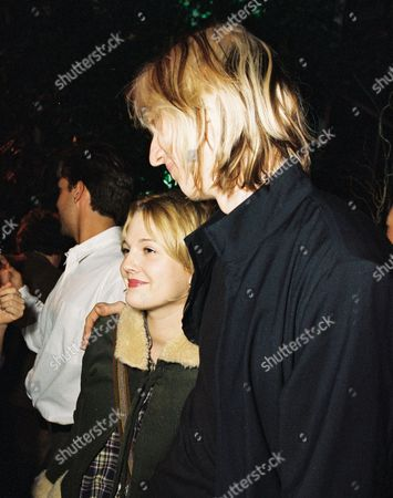 Drew Barrymore and Eric Erlandson