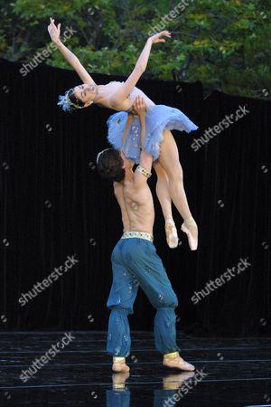 Dancers Paloma Herrera and Angel Corella