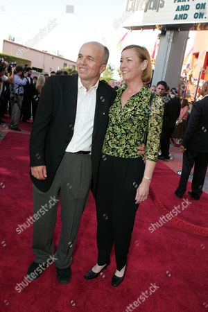 Clint Howard and wife