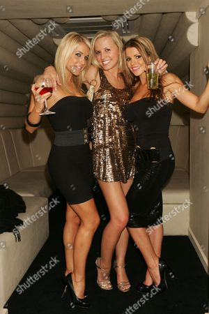 Stock Image of Kayleigh Pearson, Rachael Tennent & Tanya Robinson