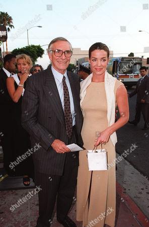 Martin Landau and Claudia Christian