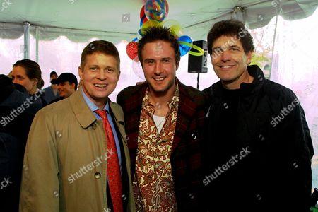 Robert Simonds, David Arquette and Alan Horn