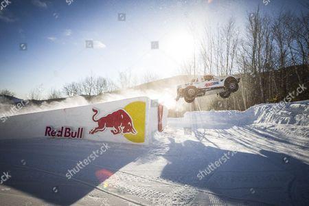 Editorial image of Red Bull Frozen Rush Race, Newry, Maine, America - 09 Jan 2015