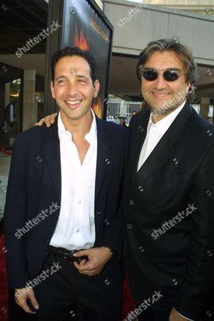 Steve Chasman and Pierre-Ange Le Pogam