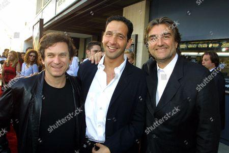 Robert Mark Kamen, Steve Chasman and Pierre-Ange Le Pogam