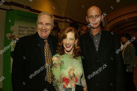 Robert McKee, Susan Orlean and John Laroche