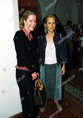 Alexandra Von Furstenberg and Courtney Kennedy