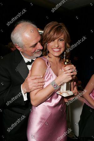 Ted Kotcheff and Mariska Hargitay