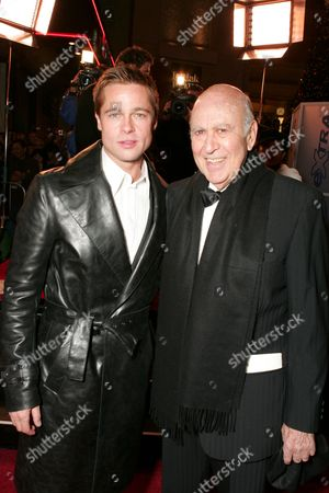 Brad Pitt and Carl Reiner