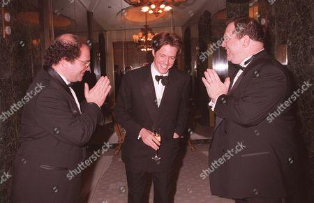 Bob Weinstein, Hugh Grant & Harvey Weinstein