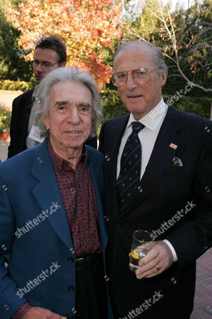 Arthur Hiller and Lloyd Bochner