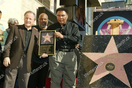 Michael Mann, Howard Bingham and Muhammad Ali