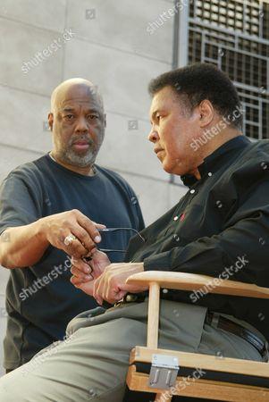 Howard Bingham and Muhammad Ali